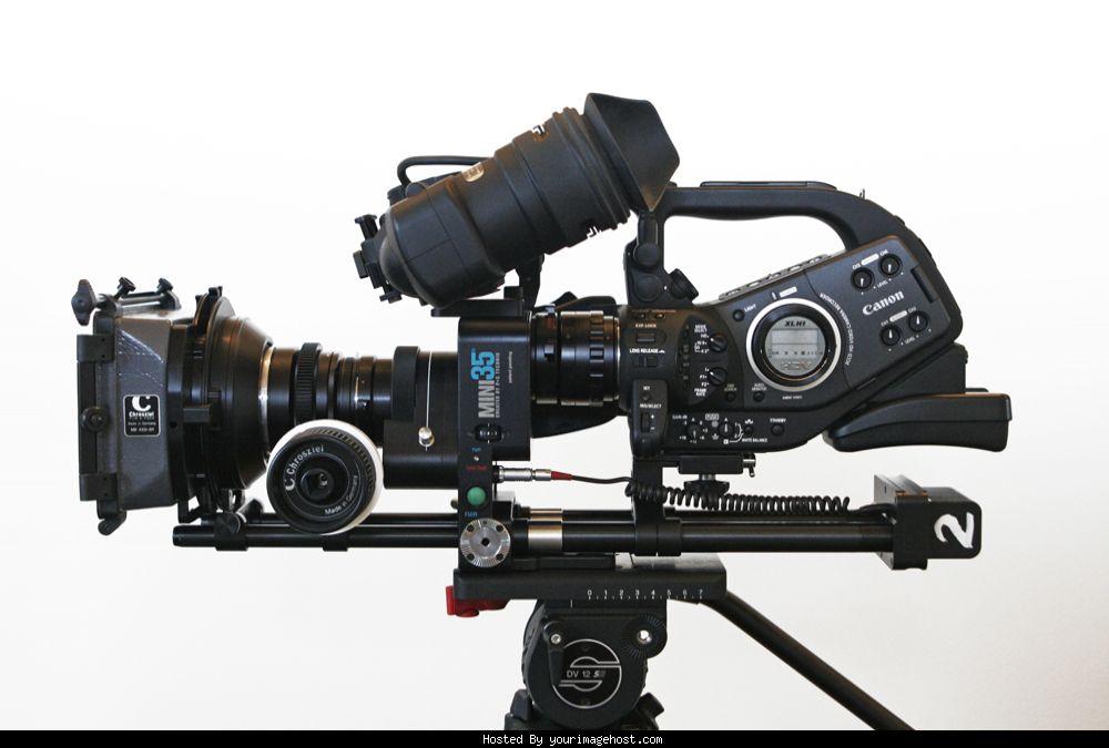 Canon Xl H1 And Ps Techniks Mini 35 For Sale border=