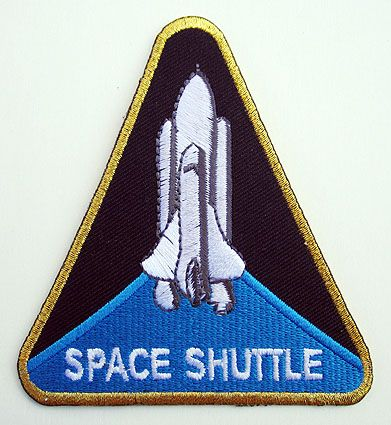 blue nasa astronaut wings patches-#50